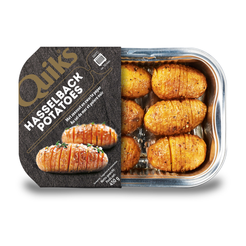 Quiks Hasselback Potatoes
